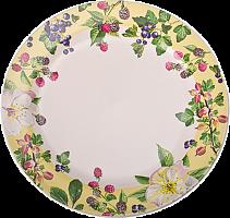 Тарелка Ягодная фантазия десертная ,19см, керамика 824-308