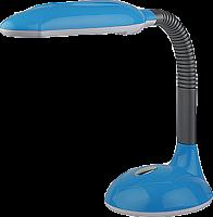 ЭРА наст.светильник NL-209-G23-9W-BU синий