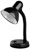 Настольный светильник ЭРА N-120-E27-40W-BK черный