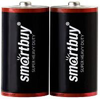 Батарейка солевая Smartbuy R20/2S (24/288)  (SBBZ-D02S)
