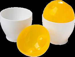 Формы для приготовления яиц в СВЧ-печи d 7 см, h 9 см Marmiton 2 шт 17047 48/24