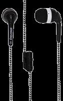 Внутриканальные наушники 9200 SmartBuy® FRIENDS с разветвителем, черные (SBE-9200) /10/ 200