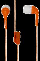 Внутриканальные наушники 9240 SmartBuy® FRIENDS с разветвителем, оранжевые (SBE-9240) /10/ 200