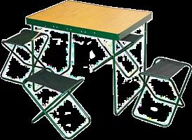 Набор Пикник с 286 (стол Турист и 4 стула)