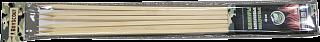 Шампуры бамбуковые 40*0,6*0,6см,квадратные,61066 6шт в ПВХ упак.