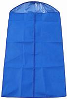 """Чехол для одежды с ПВХ-окном """"Элегант"""" синий 100*60 см нетканое полотно 80 г/кв.м 8/80 (11089"""