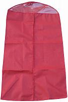 """Чехол для одежды с ПВХ-окном """"Элегант"""" красный 100*60 см нетканое полотно 80 г/кв.м 8/80 (1109"""