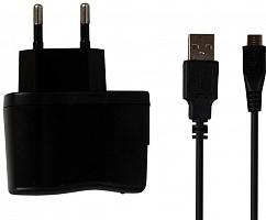 СЗУ SmartBuy ONE, 1А, MiniUSB, кабель 1м, черн (SBP-4050)/100