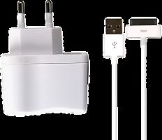 СЗУ SmartBuy ONE, 1А, 30 pin, кабель 1м, белое (SBP-3250)/100