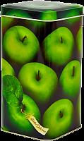 Банка жестяная Яблоки зеленые П-90*90h171v140-00983  П-90*90h171v140-00983