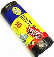 Мешки для мусора 30л, 20шт, 8 микрон, МУЛЬТИПЛАСТ прочные, арт.020509 449-003