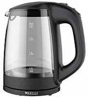 Стеклянный электрический чайник KL-1304 (1x6)