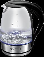 Стеклянный  электрический чайник 1,7л KL-1462 (1x6)
