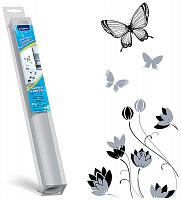 """7004 Topperr Декоративная наклейка для холодильников (""""Бабочки и цветы"""")"""