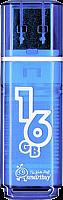 Накопитель USB Smartbuy 16GB Glossy series Blue