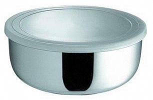 Миска круглая с крышкой 16 см (1000 мл)     (48)     1601-16
