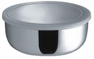 Миска круглая  с крышкой 18 см (1400 мл)     (24)     1601-18