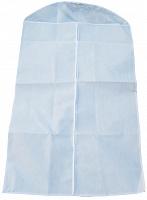 """Чехол для одежды с ПВХ-окном """"Элегант"""" белый 100*60 см нетканое полотно 80 г/кв.м 8/80 (11088"""