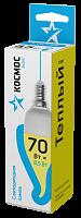 Светодиодная лампа КОСМОС BASIC CW 8.5W 220V E14 3000K