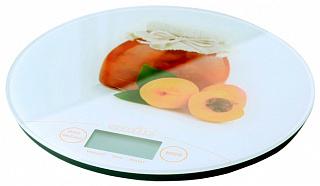 Весы без упаковки SMAILE KSE 3216  кух. элект. персик
