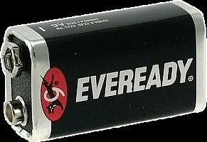 Элементы питания Eveready без упаковки 6F22/12 элем/пит