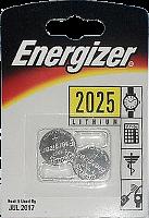 Элемент питания Energizer без упаковки  Miniatures lithium CR 2025 FSB2 элемент питания