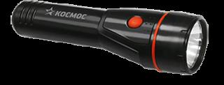 Фонарь без упаковки КОСМОС 8107 T (2*R6) пластик