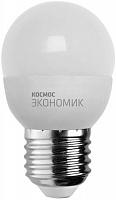 Светодиодная лампа КОСМОС ЭКОНОМИК/BASIC GL45 8.5W 220V E27 4500K
