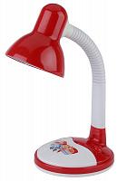 106 ЭРА наст.светильник N-106-E27-40W-R красный