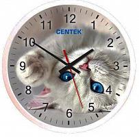 Часы настенные Centek СТ-7104 Cat (кот)