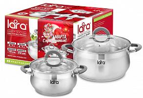 LR02-109 Набор посуды LARA Bell PROMO