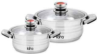 Набор посуды LARA ADAGIO, 2 пр. LR02-106