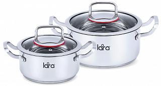 Набор посуды LARA Prima, 2 пр. LR02-107