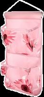 Кофр подвесной настенный, 2 кармана, ЭВА, спанбонд, 18х35см, 4 цвета