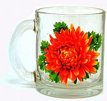 Кружка для чая 320 Чайная 1/2 Цветы Mix FP 04с1208 ДЗ 1/2 Цветы FP