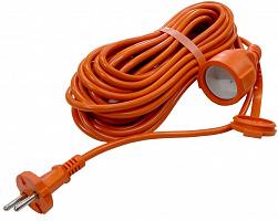 Удлинитель-шнур УСШ 3*1.5 мм/10м з/к, Спутник