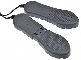 Сушилка для обуви LEBEN раздвиж плоская, пластик, 220В, 15Вт, 50Гц, темп. нагрева 65-80 град248-007