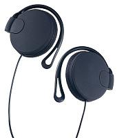 Наушники накладные Perfeo TWINS черные (крепление за ухом)