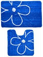 Набор ковриков VETTA 2шт для ванной и туалета, акрил, 50x80см + 50x50см, 462-639