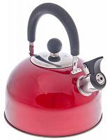 Чайник стальной 2.5л красный RWK021 K12 847-002