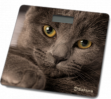 Весы напольн SA-5065CT 180кг элек кошка