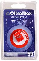 USB-накопитель 16GB OltraMax 50 оранж./красн.
