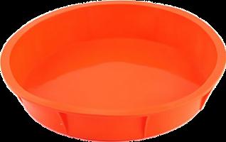 Форма VETTA силиконовая 25x5.5см, круглая, 4 цвета, HS-005A/891-008