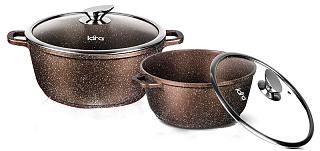 Набор посуды LARA Rio CHOCO LR02-111