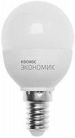 Светодиодная лампа КОСМОС ЭКОНОМИК/Basic GL45 7.5W 220V E14 3000K