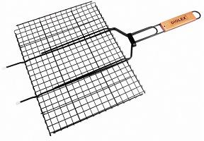 Решетка-гриль Diolex DX-M1203-B 35x26cm (сталь с антипригарным покрытием)