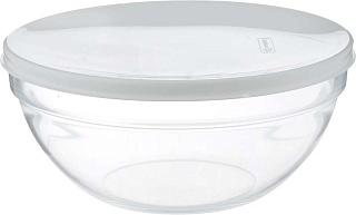 Салатник с крышкой 23см прозрачный  EMPILABLE H1154
