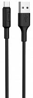 USB-кабель HOCO X25 Micro USB 1 м черный