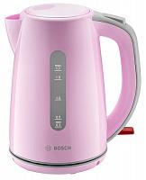 Чайник BOSCH TWK7500К розовый