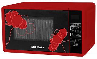 Микроволновая печь WILLMARK WMO-235DBR красный